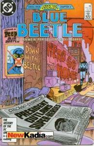 Blue Beetle (1986 series) #9, VF+ (Stock photo)