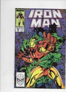 IRON MAN #237, VF/NM Tony Stark, Star Hunter, 1968 1988, more IM in store,Marvel