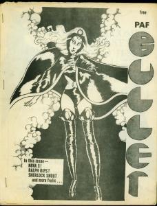 Bullet Fanzine #9 1976- Portland Fandom- Schomburg- Dave Stevens personal copy G