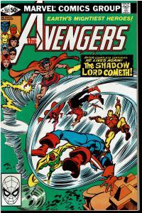 Avengers #207, 8.0 or Better