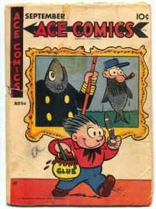 Ace Comics #114 1946- PHANTOM- Prince Valiant FR