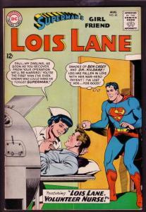 SUPERMAN'S GIRL FRIEND LOIS LANE #43 1963-NURSE ISSUE VG