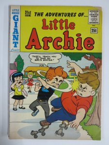 LITTLE ARCHIE  31 VG 6/1964 COMICS BOOK