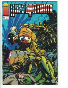 Superpatriot #3 VF/NM signed by Keith Giffen - Image Comics