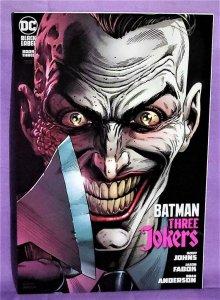 Geoff Johns BATMAN THREE JOKERS #3 G Jason Fabok Variant Cover (DC, 2020)!