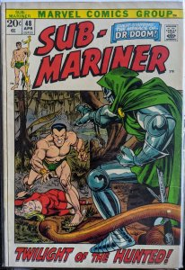 Sub-Mariner #48 (1972) F/VF