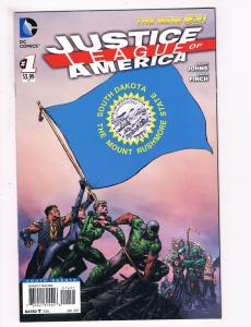 Justice League Of America #1 NM 1st Print South Dakota Variant DC Comic Book S66