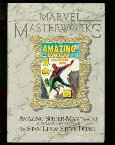 MARVEL MASTERWORKS: AMAZING SPIDER-MAN VOL. 1 FIRST ED FN