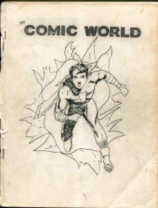 Comic World #4 1964-Robert Jennings-Capt Marvel Jr-pioneer fanzine-G/VG