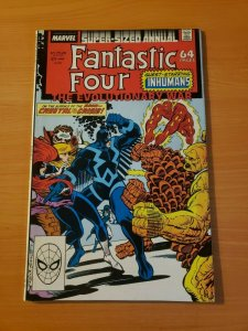 Fantastic Four Annual #21 Direct Market Edition ~ NEAR MINT NM ~ 1988 Marvel