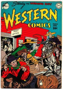 WESTERN COMICS #2 (Mar1948) 8.0 VF  DC's 1st Cowboy Title! The Wyoming Kid Stars