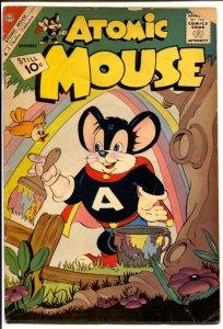Atomic Mouse #45 1961-Charlton-Superhero funny animals-Atomic Rabbit-G