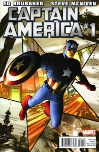 Captain America (6th Series) #1 FN; Marvel | save on shipping - details inside