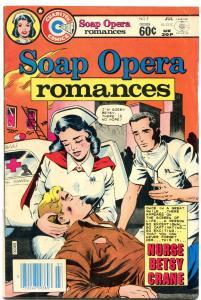 SOAP OPERA ROMANCES-#1 1982-Betsy Crane-CHARLTON FN