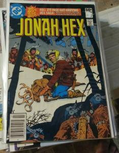 JONAH HEX # 50 1980 DC COMICS WESTERN  the hunter  1st apperance Emmylou Hartley