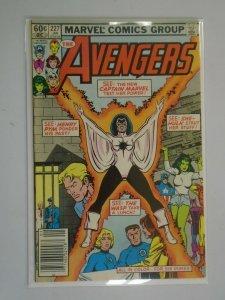 Avengers #227 Newsstand edition 5.0 VG FN (1983 1st Series)
