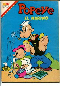 Popeye El Marino #2-13 1981-Spanish language-color-VG