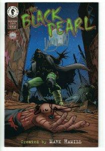 The Black Pearl #1 VF signed by Mark Hamill & Eric Johnson - Dark Horse Comics