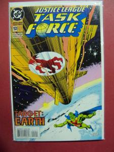 JUSTICE LEAGUE TASK FORCE #12  VF/NM OR BETTER DC COMICS