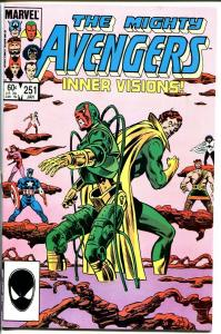 AVENGERS #251-CAPTAIN MARVEL-HIGH GRADE VF/NM