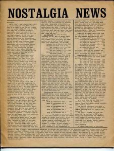 Nostalgia news #11 1971-Rogofsky-Dallascon Bulletin-David T Alexander-FN