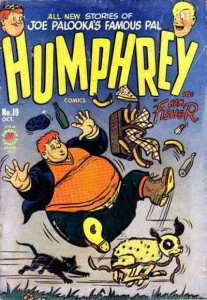 Humphrey Comics #19 VG; Harvey | low grade comic - save on shipping - details in