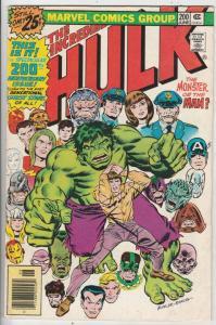 Incredible Hulk #200 (Jun-76) FN Mid-Grade Hulk