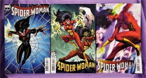 Karla Pacheco SPIDER-WOMAN #1 Variant Cover 3 - Pack (Marvel, 2020)!