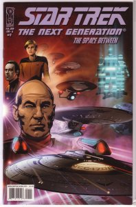 Star Trek: The Next Generation -- The Space Between #1A of 6 VF/NM Calero cover