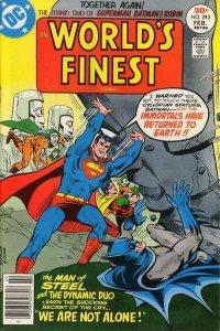 World's Finest Comics #243, Fine+ (Stock photo)