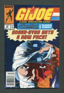G.I. Joe #94 /  7.5 VFN-  / Newsstand  December 1989