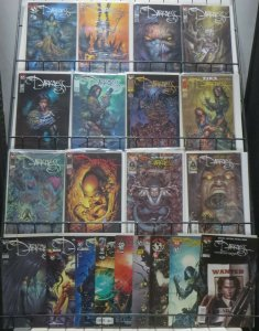 THE DARKNESS SAMPLE SET! 21 issues! Ennis! Silvestri! Top Cow!
