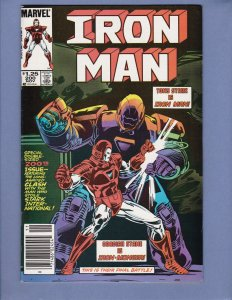Iron Man #200 NM- 1st Appearance Red/White Armor Marvel 1985