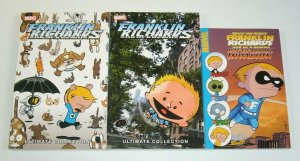 Franklin Richards Son of a Genius Ultimate Collection #1-2 + Not So Secret set