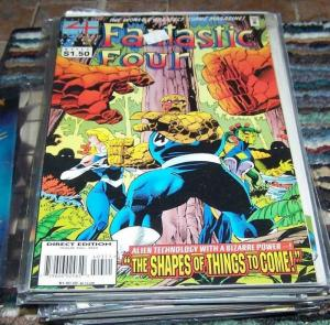 FANTASTIC FOUR #403    1995 Marvel  + things to come ANTMAN LIJA BEN GRIMM