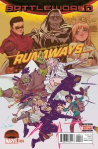 Runaways (2015 series) #4, NM (Stock photo)