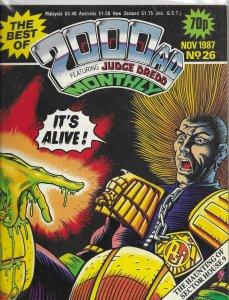 Best of 2000 AD Monthly # 26 VG Robo-Hunter, Judge Dredd, Wagner, Grant, Gibson