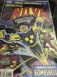 Marvel Nova True Believers #1