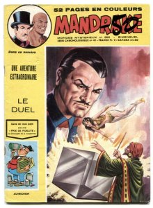 Mandrake the Magician #395 1973- French comic VG