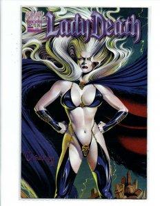 Lady Death Tribulation #2 - sexy bad girl - Chaos - Near Mint