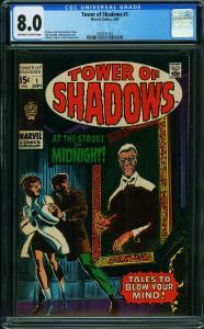 Tower of Shadows #1 CGC 8.0