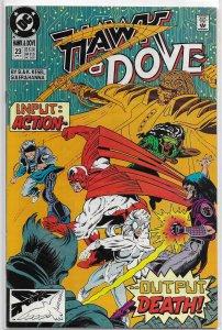 Hawk and Dove (vol. 2, 1989) #23 VF Kesel, Guler