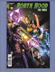 Robyn Hood The Curse #3 NM Variant Cover D Zenescope 2018