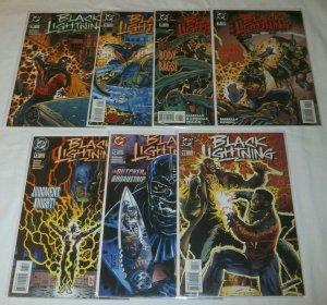 Black Lightning (vol. 2, 1995) #7-13 + (set of 7) Isabella/Newell/Harris, Batman