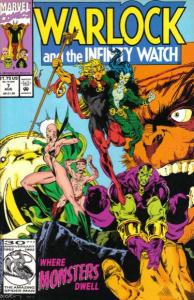 Warlock and the Infinity Watch #7, NM (Stock photo)