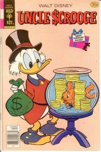 UNCLE SCROOGE 159 FINE Dec. 1978 COMICS BOOK