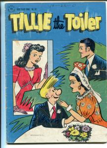 TILLIE THE TOILER #89 1945-DELL-FOUR COLOR COMICS-good+