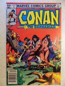 CONAN THE BARBARIAN # 141 (1982)