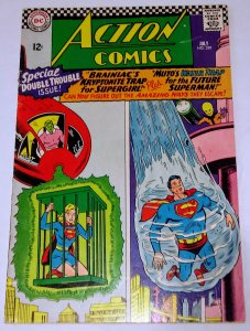 Action Comics #339 (VG+) 1966 DC Silver Age ID46H