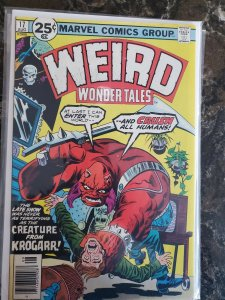 Weird Wonder Tales #17 Marvel (76) VF